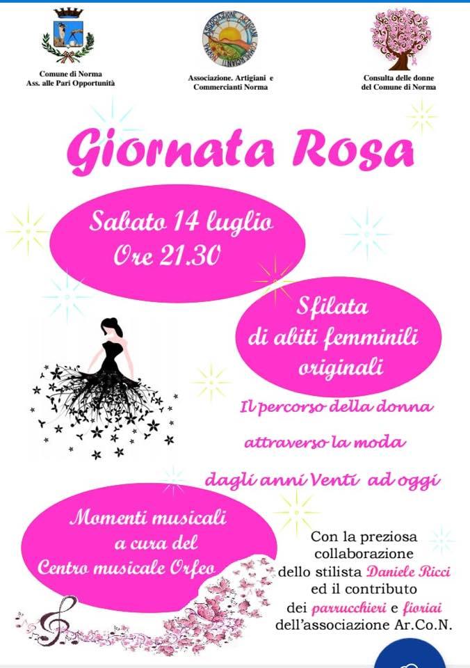 Norma: Giornata Rosa @ Norma | Norma | Lazio | Italia