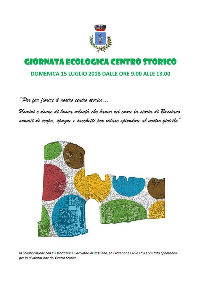 Giornata ecologica centro storico @ Bassiano | Bassiano | Lazio | Italia