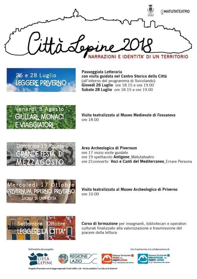 Città Lepine: Priverno @ Priverno | Priverno | Lazio | Italia