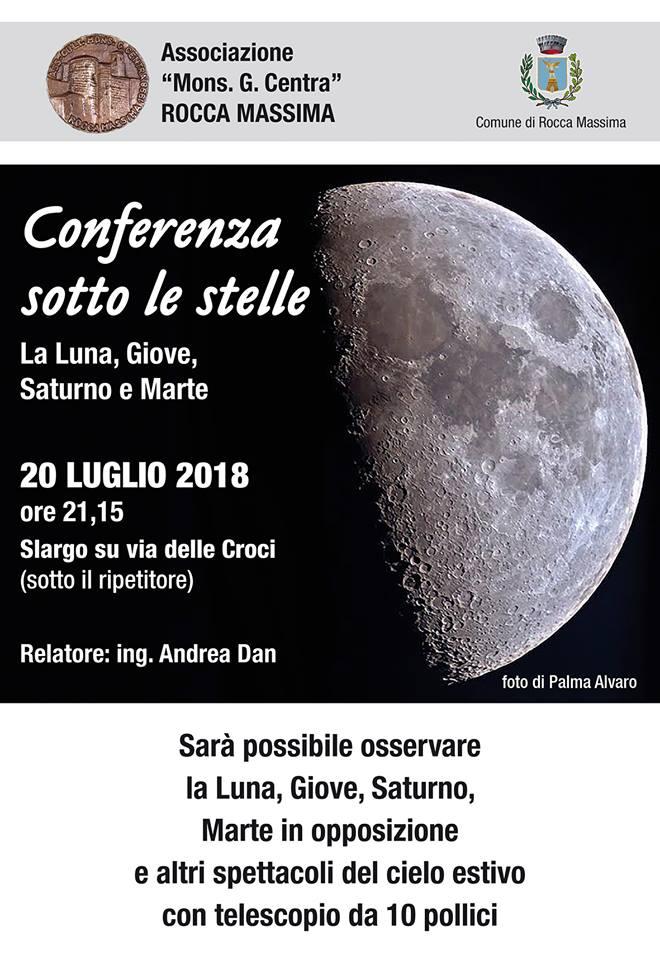 Rocca Massima: Conferenza sotto le stelle @ Slargo su via delle Croci | Rocca Massima | Lazio | Italia