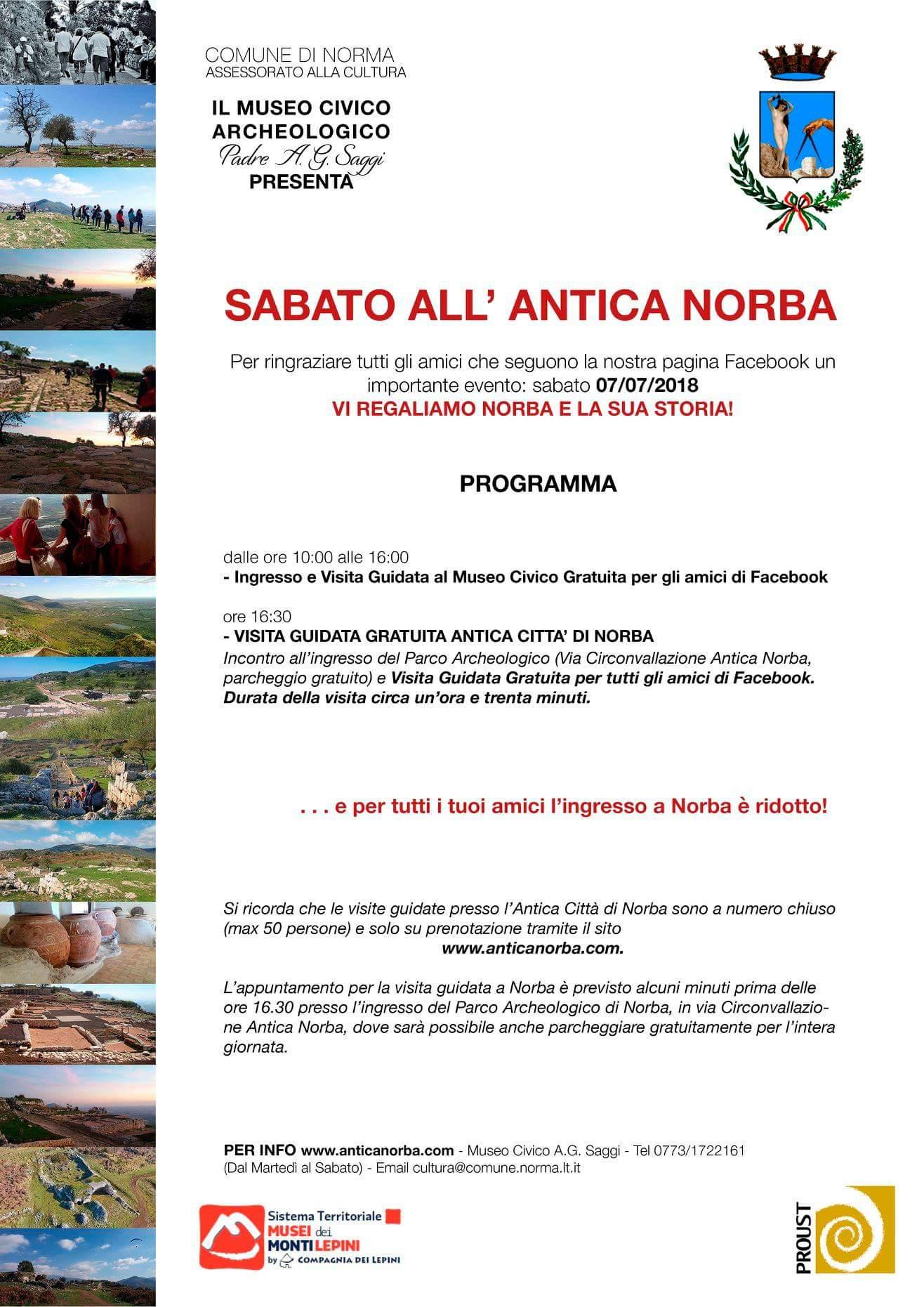 Norma: Sabato all'antica Norba @ Norma | Norma | Lazio | Italia