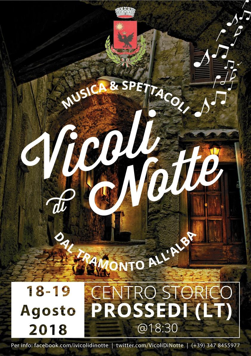 Prossedi: Vicoli di Notte @ Centro Storico  | Prossedi | Lazio | Italia