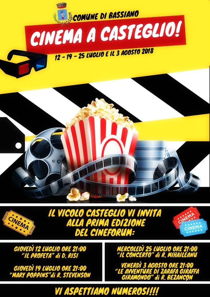 Bassiano, Cinema a Casteglio @ Bassiano | Bassiano | Lazio | Italia