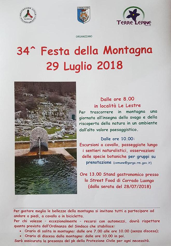 Gorga: festa della montagna @ Gorga | Lazio | Italia