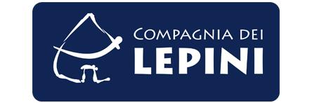 Logo Compagnia dei Lepini su sfondo blu