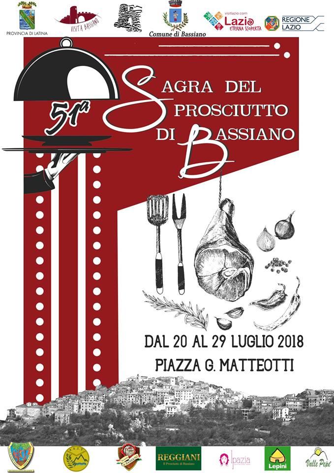 Bassiano, 51° Sagra del Prosciutto @ Piazza G. Matteotti, Bassiano  | Bassiano | Lazio | Italia