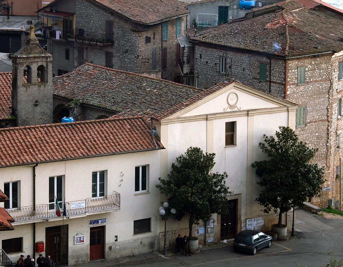 Chiesa di Santa Reparata, facciata, sec. XIX