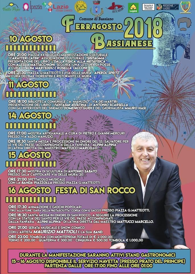 Bassiano: Ferragosto Bassianese @ Bassiano | Lazio | Italia