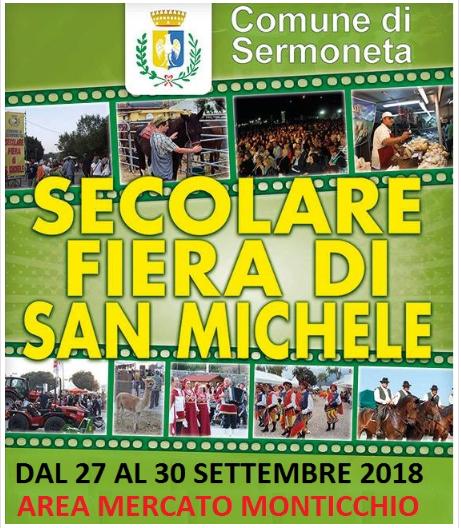 Sermoneta: Fiera di San Michele @ Area mercato | Monticchio | Lazio | Italia