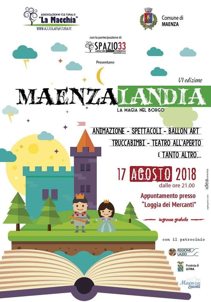 Maenza: Maenzalandia @ La Loggia dei Mercanti | Maenza | Lazio | Italia