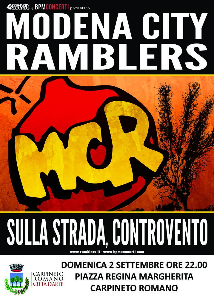 Carpineto Romano, concerto Modena City Ramblers @ Piazza Regina Margherita, Carpineto Romano   Carpineto Romano   Lazio   Italia