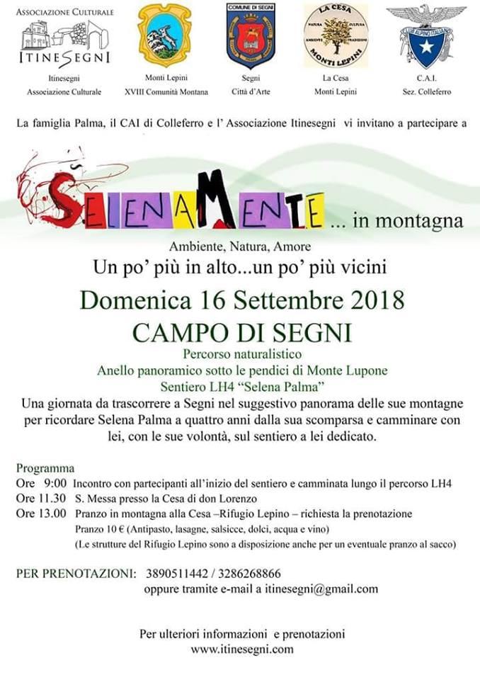 Segni: Selenamente... In montagna @ Campo di Segni   Lazio   Italia