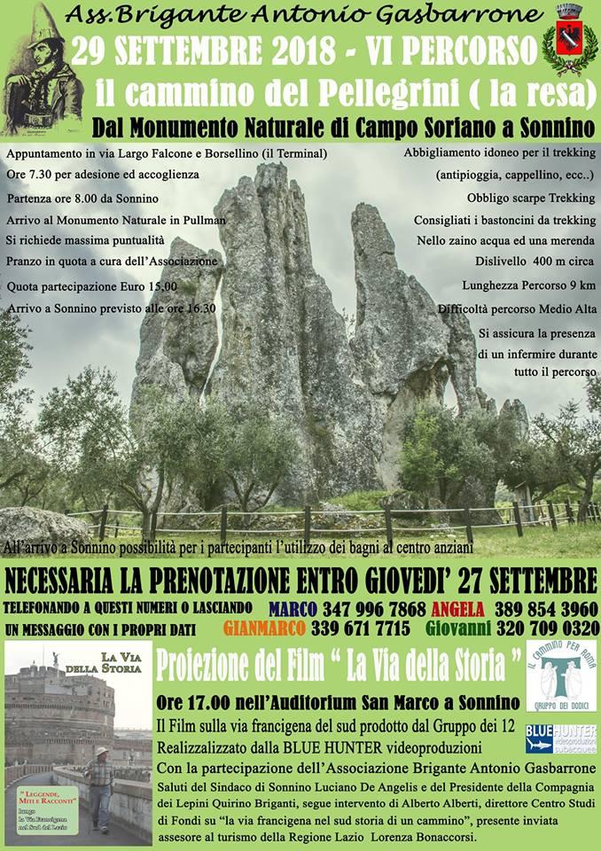 Sonnino: Il cammino dei Pellegrini @ Campo Soriano | Campo Soriano | Lazio | Italia