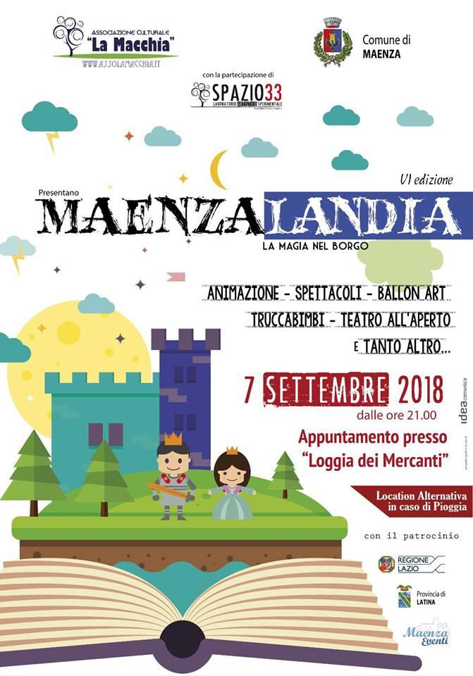 Maenza: Maenzalandia @ Loggia dei Mercanti   Maenza   Lazio   Italia