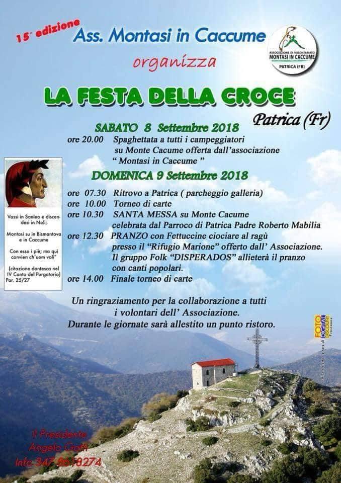 Patrica: Festa della Croce @ Patrica   Lazio   Italia