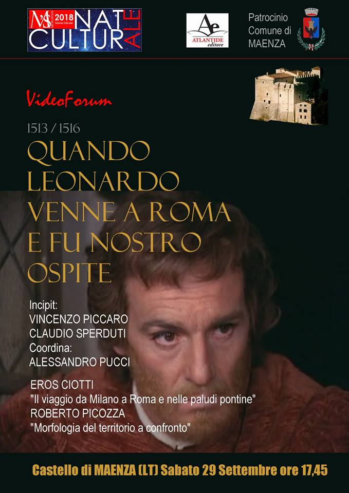 Maenza: Quando Leonardo venne a Roma e fu nostro ospite @ Castello Baronale | Maenza | Lazio | Italia