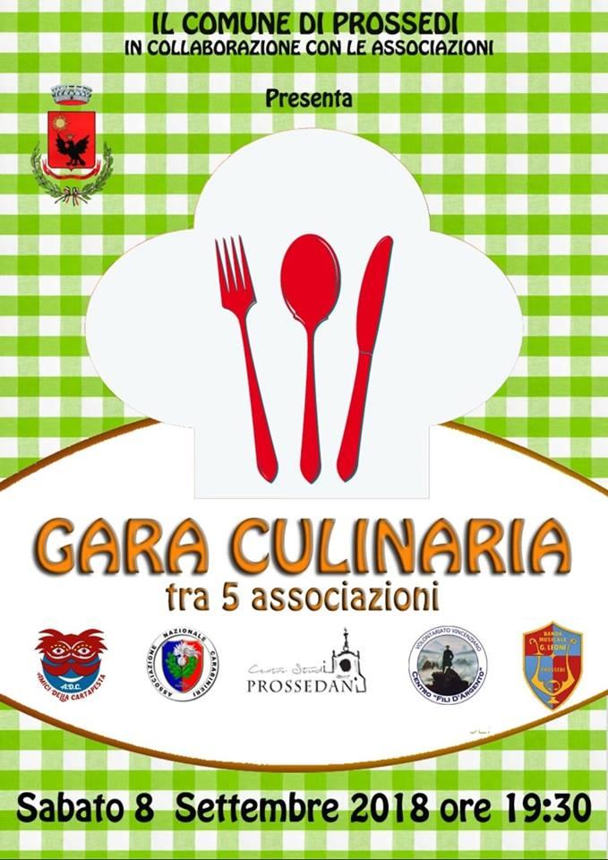 Prossedi: Gara culinaria @ Prossedi   Lazio   Italia