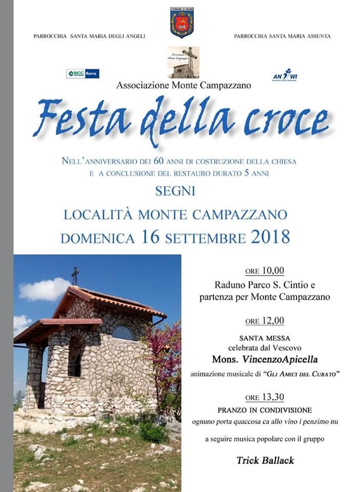Segni, Festa della Croce @ Segni   Lazio   Italia