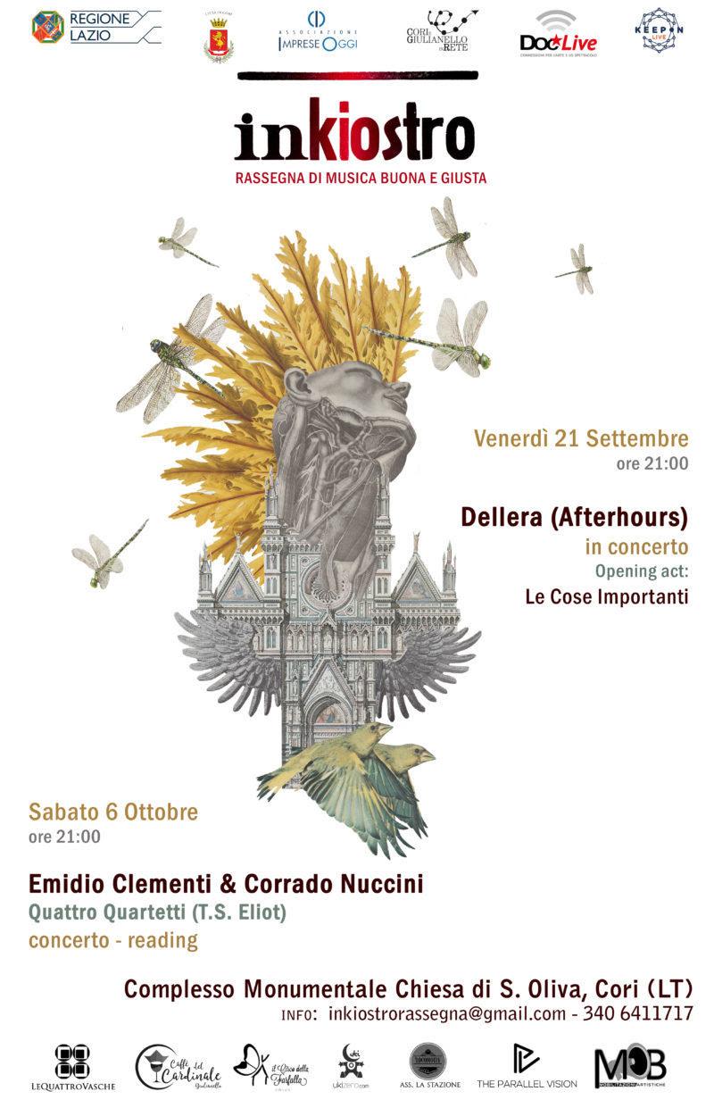 Cori: Inkiostro @ Complesso Monumentale Chiesa S. Oliva   Cori   Lazio   Italia