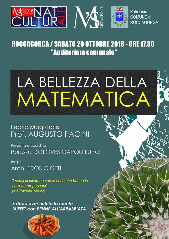 Roccagorga: la bellezza della matematica @ Auditorium Comunale, Roccagorga  | Roccagorga | Lazio | Italia