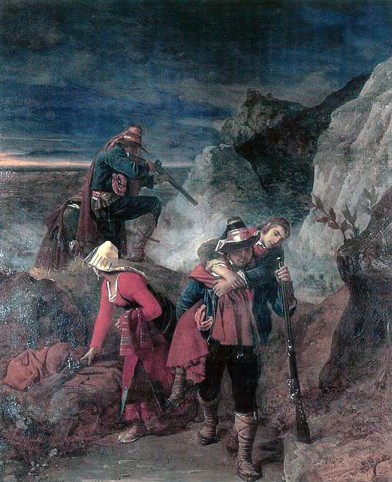 Louis Leopold Robert, Briganti in ritirata