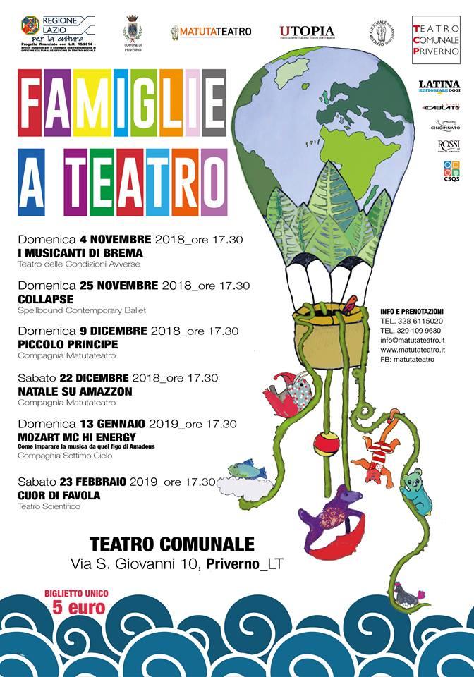 Priverno: Famiglie al teatro @ Teatro Comunale | Priverno | Lazio | Italia