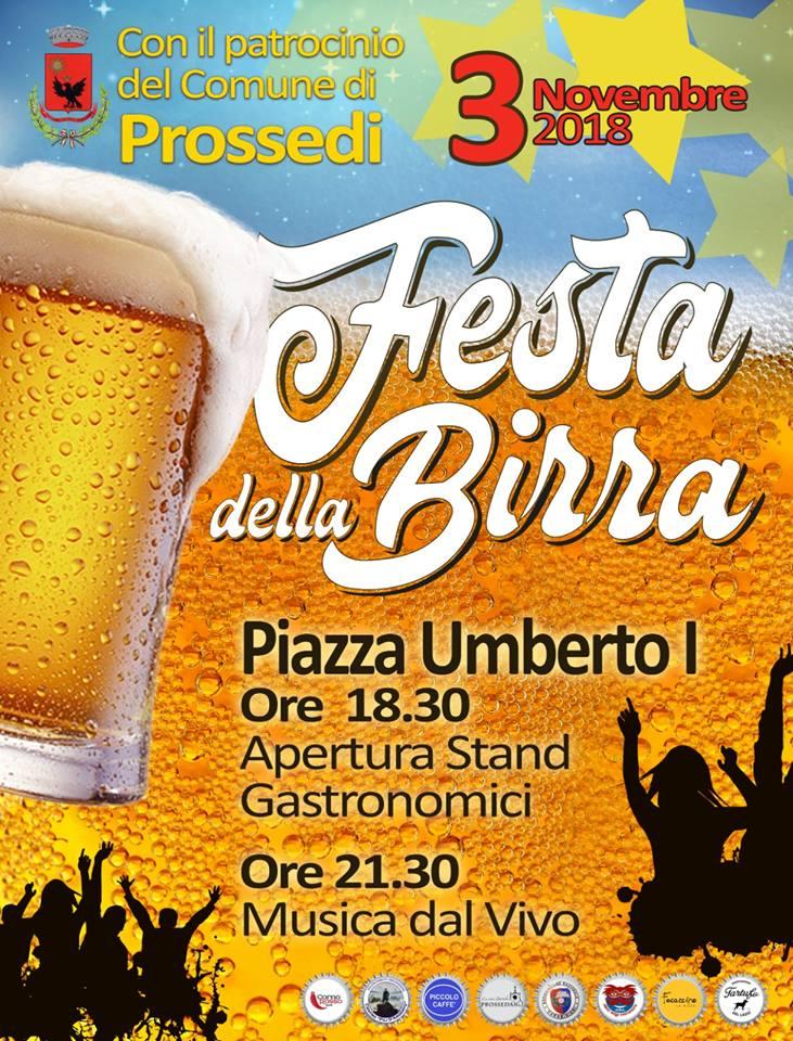 Prossedi: Festa della birra @ Piazza Umberto I | Prossedi | Lazio | Italia