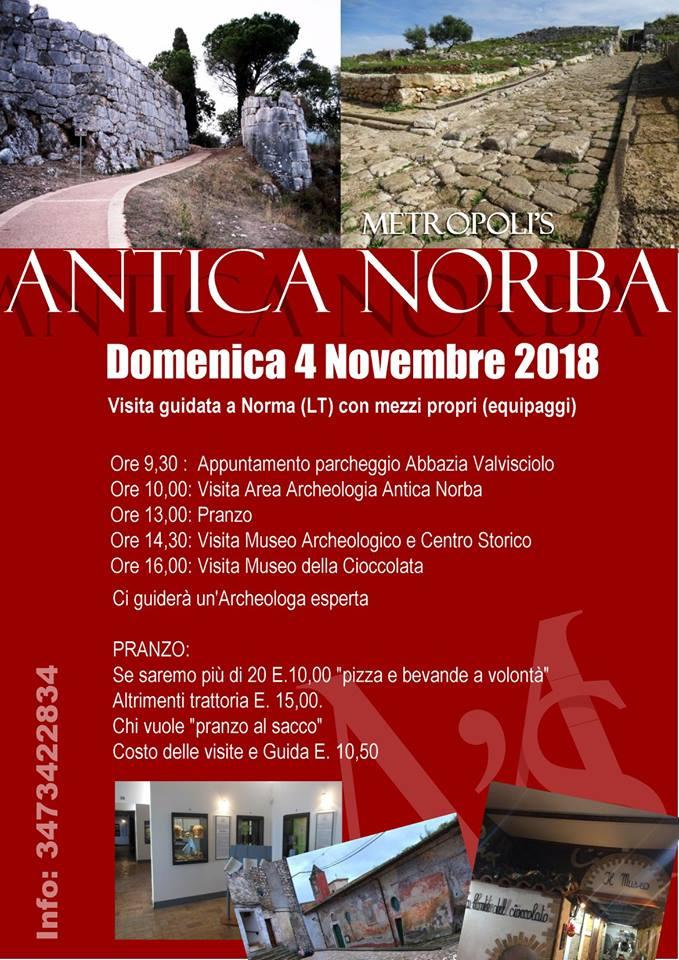 Norma: visita guidata @ Norma | Norma | Lazio | Italia