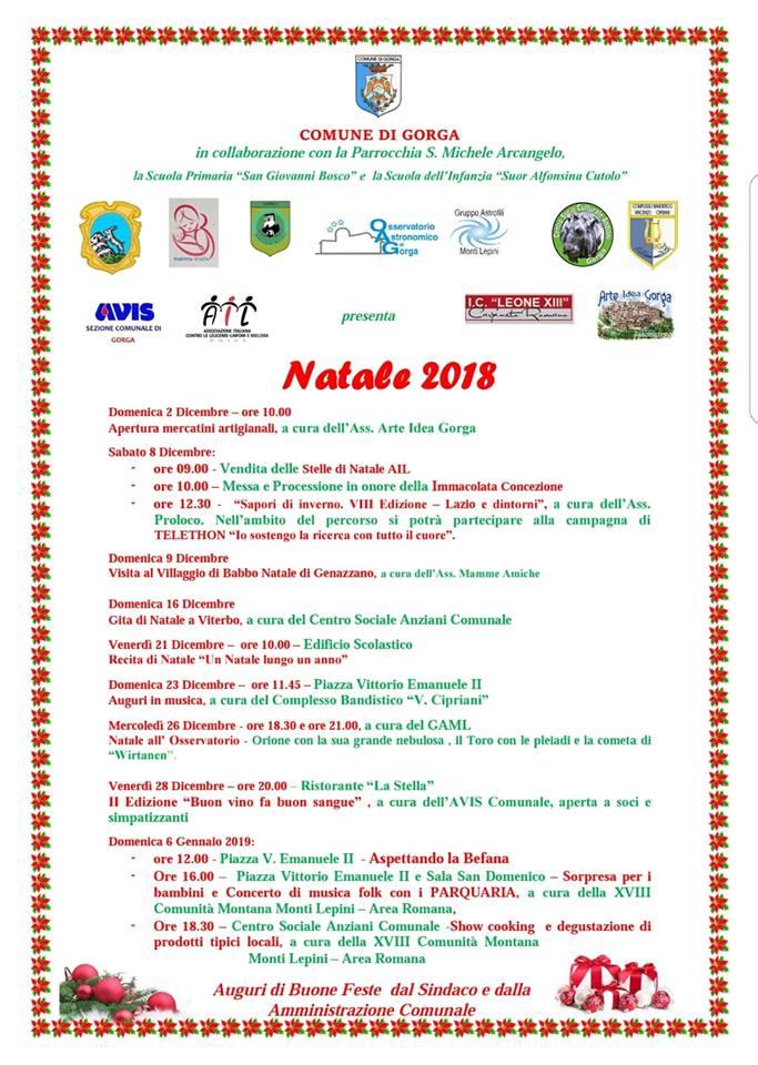 gorga-programma-natale-2018