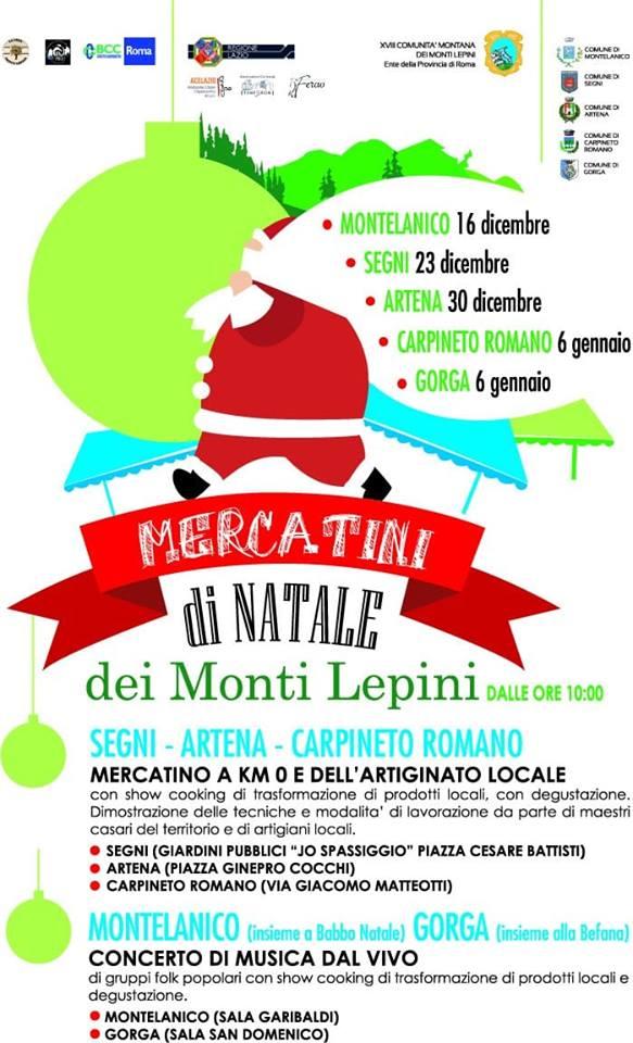 Mercatini di Natale dei Monti Lepini @ Lazio | Italia