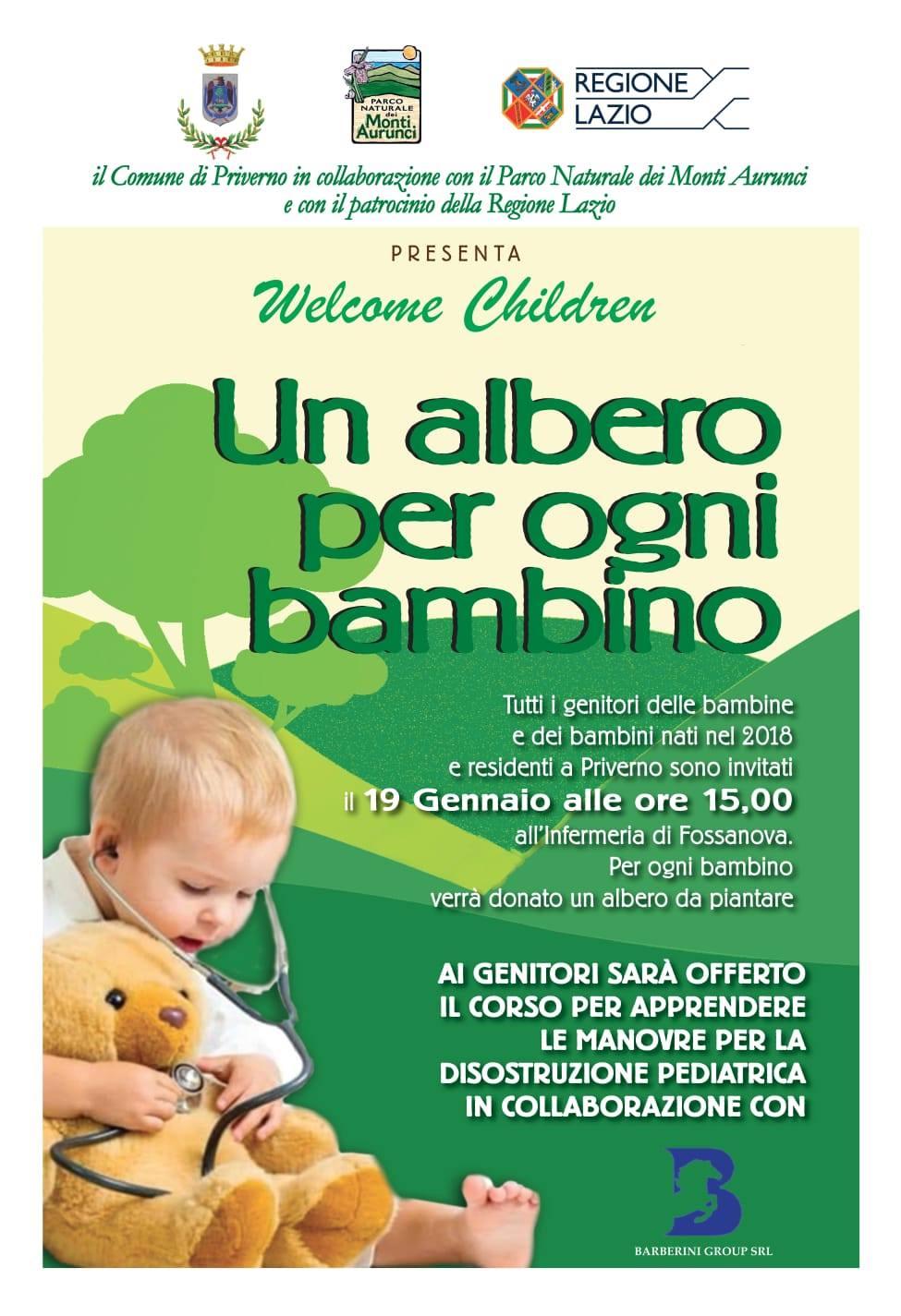 Priverno: un albero per ogni bambino @ Infermeria di Fossanova | Priverno | Lazio | Italia