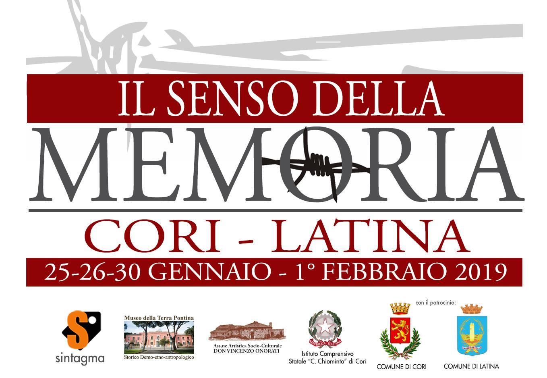 Cori: Il senso della memoria @ Istituto comprensivo statale Cesare Chiominto | Cori | Lazio | Italia
