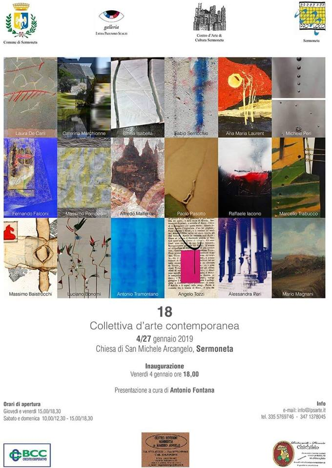 Sermoneta: mostra collettiva d'arte contemporanea @ Chiesa S: Michele Arcangelo | Sermoneta | Lazio | Italia