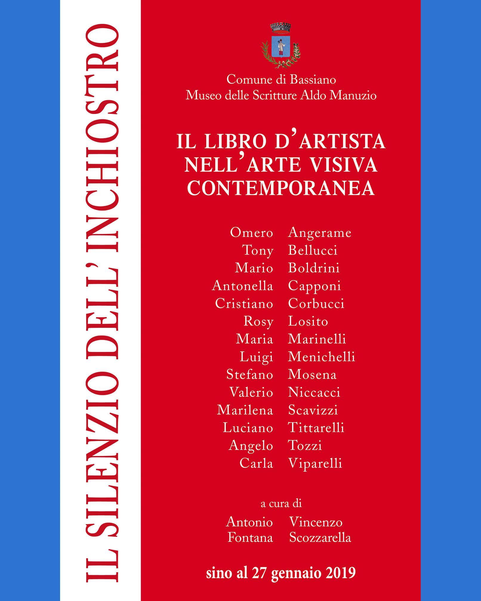Bassiano: Il silenzio dell'inchiostro @ Museo delle Scritture Aldo Manuzio | Bassiano | Lazio | Italia