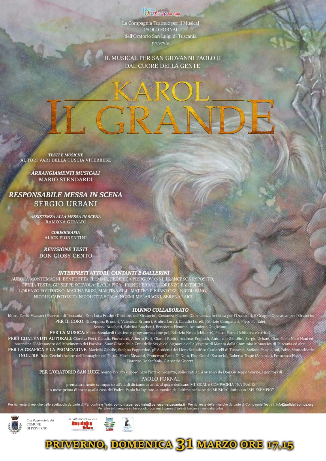 Priverno: Karol il Grande @ oratorio San Luigi di Tuscania | Priverno | Lazio | Italia