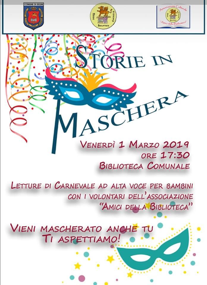 Segni: Carnevale 2019 @ Biblioteca comunale e vie del paese | Lazio | Italia