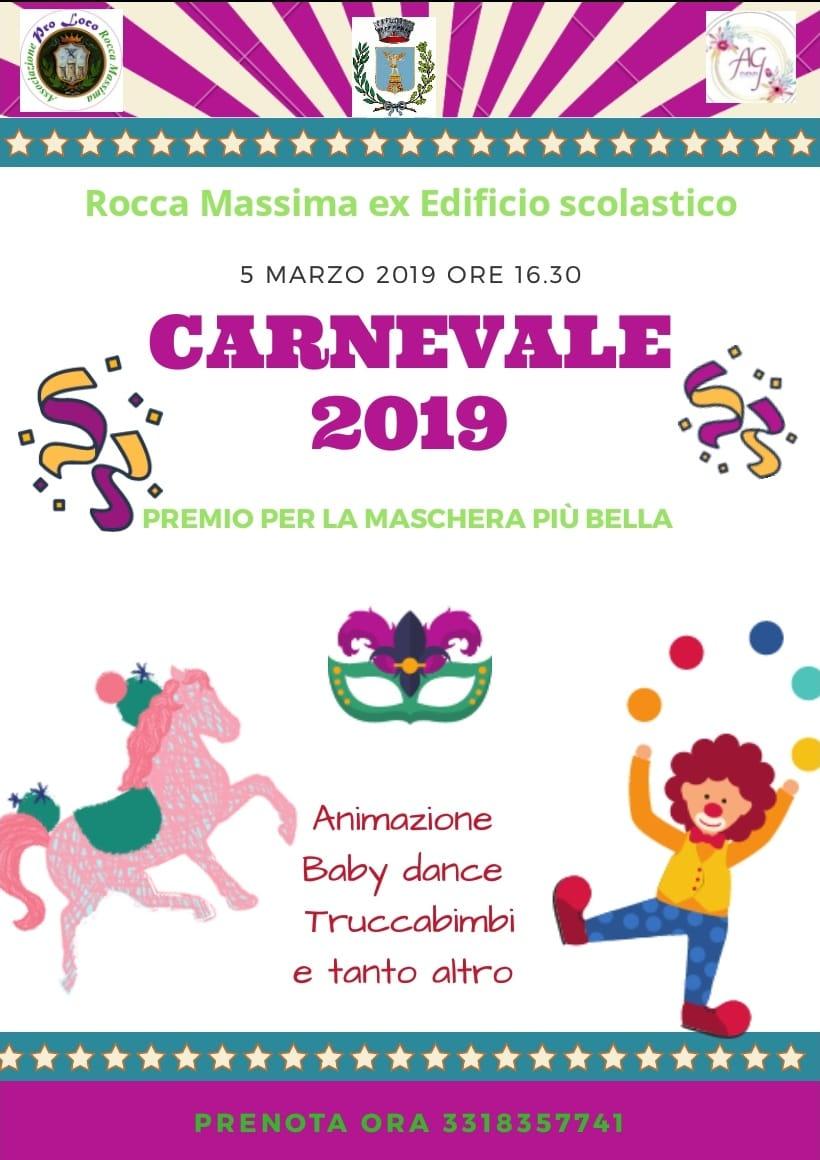 Rocca Massima: Carnevale 2019 @ ex edificio scolastico | Rocca Massima | Lazio | Italia