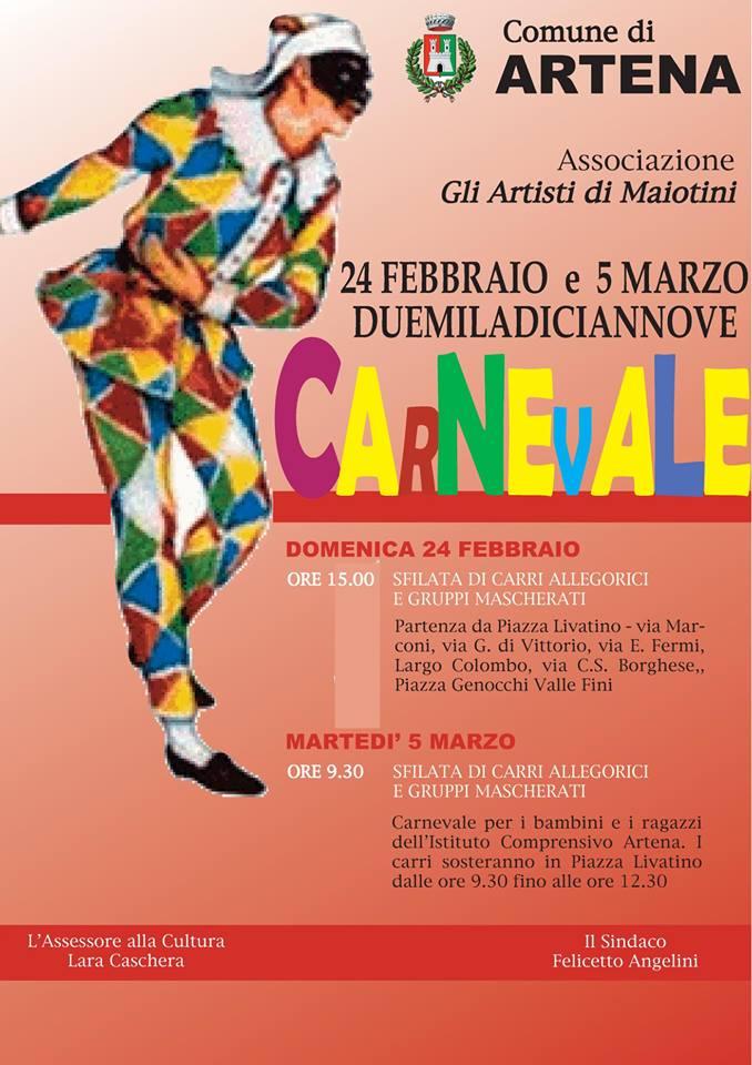 Artena: Carnevale @ Per le vie del paese | Artena | Lazio | Italia