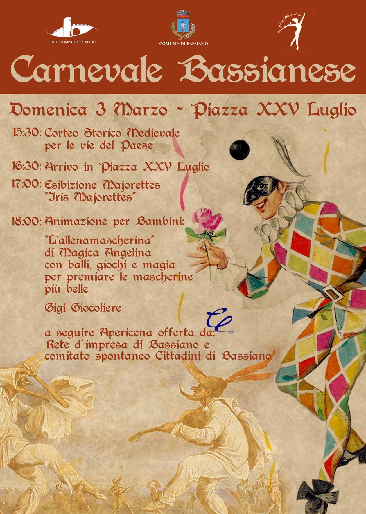 Bassiano: Carnevale Bassianese @ Piazza XXV luglio | Bassiano | Lazio | Italia