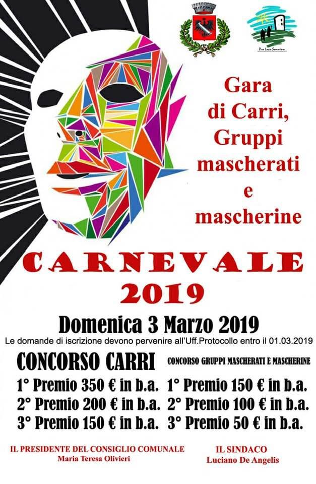 Sonnino: Carnevale 2019 @ Sonnino | Sonnino | Lazio | Italia
