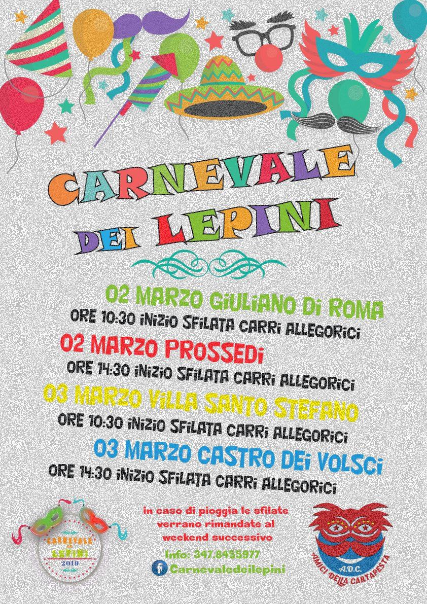 Giuliano di Roma: Carnevale dei Lepini @ per le vie del paese | Giuliano di Roma | Lazio | Italia