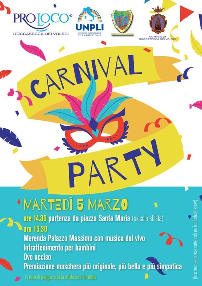 Roccasecca dei Volsci: Carnival Party @ piazza Santa Maria | Roccasecca dei Volsci | Lazio | Italia