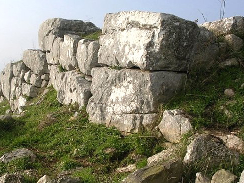 Castello distrutto di Monte Trevi