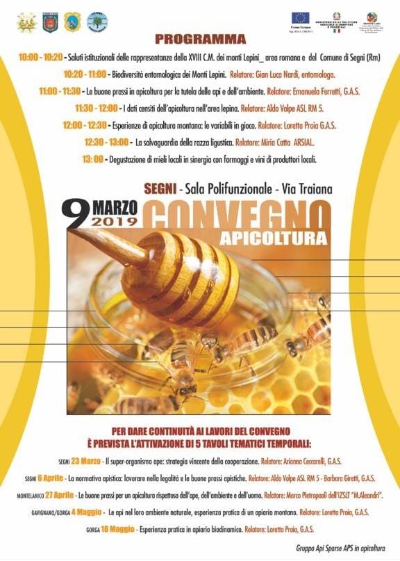 Segni: Convegno Apicoltura @ Sala Polifunzionale | Lazio | Italia