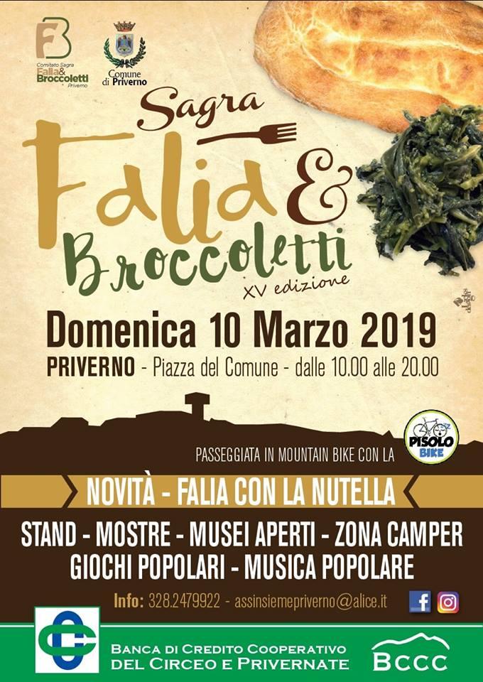 Priverno: Sagra falia e broccoletti @ Piazza del comune | Priverno | Lazio | Italia