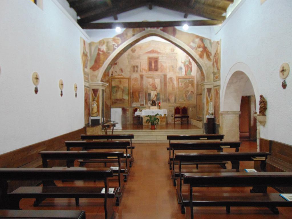 Interno Chiesa Santa Lucia