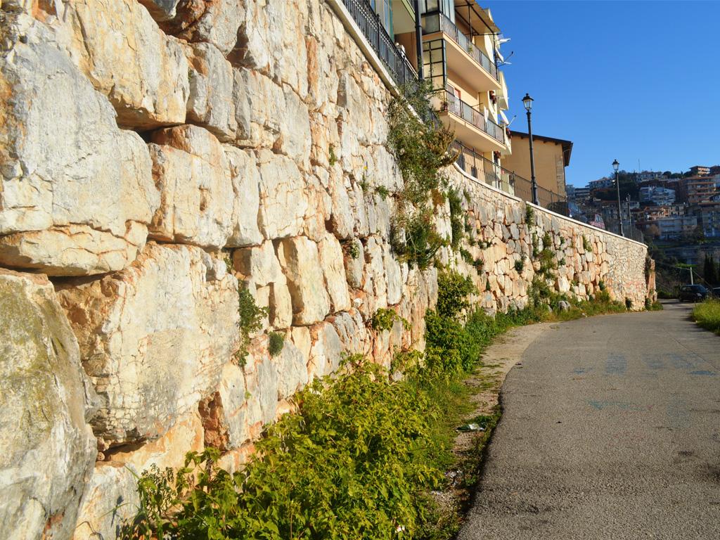 mura poligonali Sezze - Guglietto