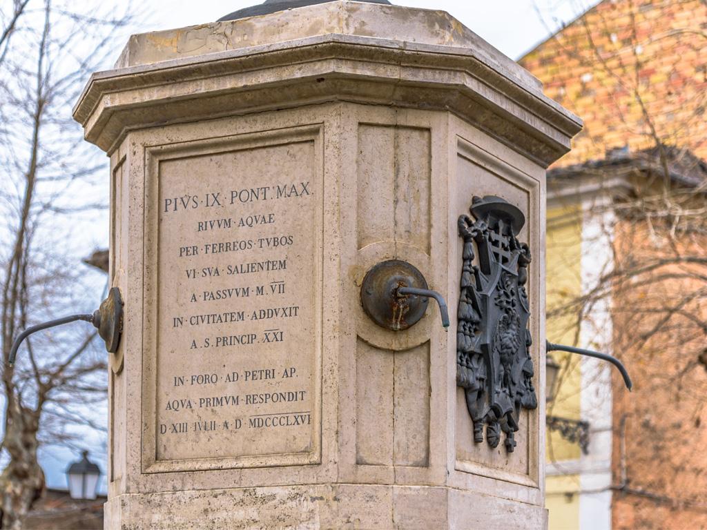 Fontana Pio IX