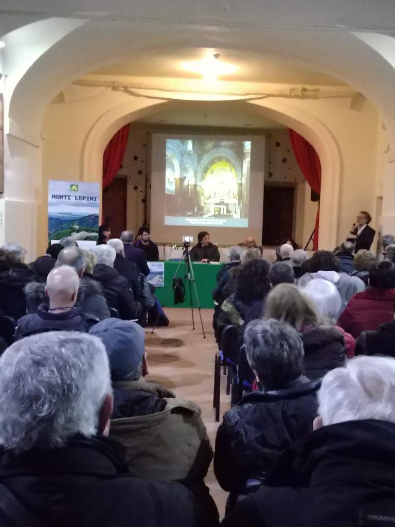 platea teatro di San Pietro