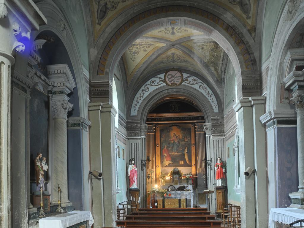 Chiesa San Lorenzo interno